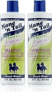 Mane    n Tail  Herbal Essentials kit shampoing apres-shampoing