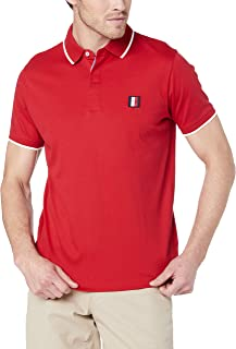 Tommy Hilfiger Men's Pure Cotton Tipped Collar Polo