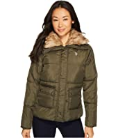 U.S. POLO ASSN. - Fur Collar Puffer