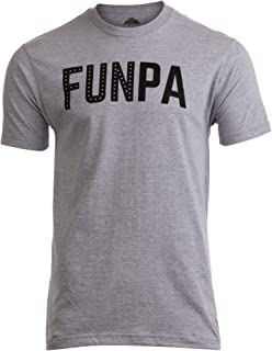FUNPA | Funny Fun Grandpa Grandfather Papa Grandson Granddaughter Men T-Shirt