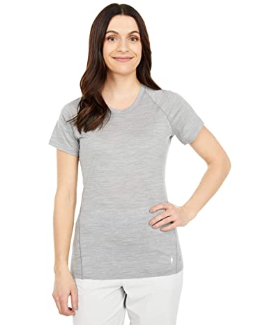 Smartwool Merino 150 Baselayer Short Sleeve (Light Gray Heather) Women