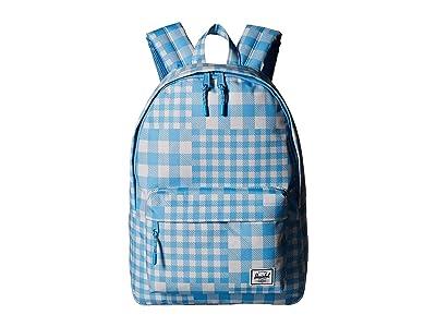 Herschel Supply Co. Classic (Gingham Alaskan Blue) Backpack Bags