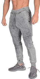 Joggers Men Slim Fit Sweatpant Gym Workout Zipper Pocket 202