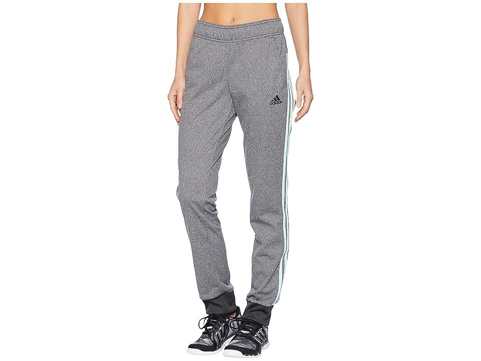 adidas D2M Cuff Pants (DGH Solid Grey/Clear Mint) Women