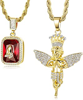 Best ice pendant chain Reviews