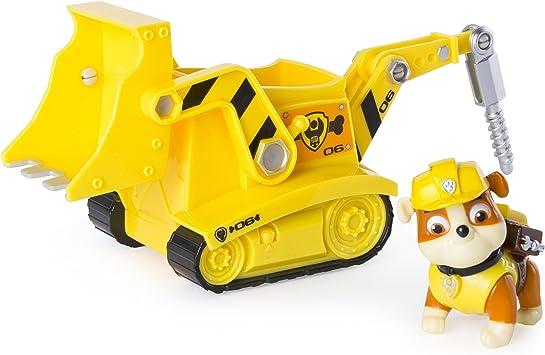 PAW PATROL Playset Veicolo e Figura RUBBLE Bulldozer con TRIVELLA Spin  Master : Amazon.it: Giochi e giocattoli