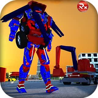 Excavator Transforming Robot: Ultimate Robot Fighting Games