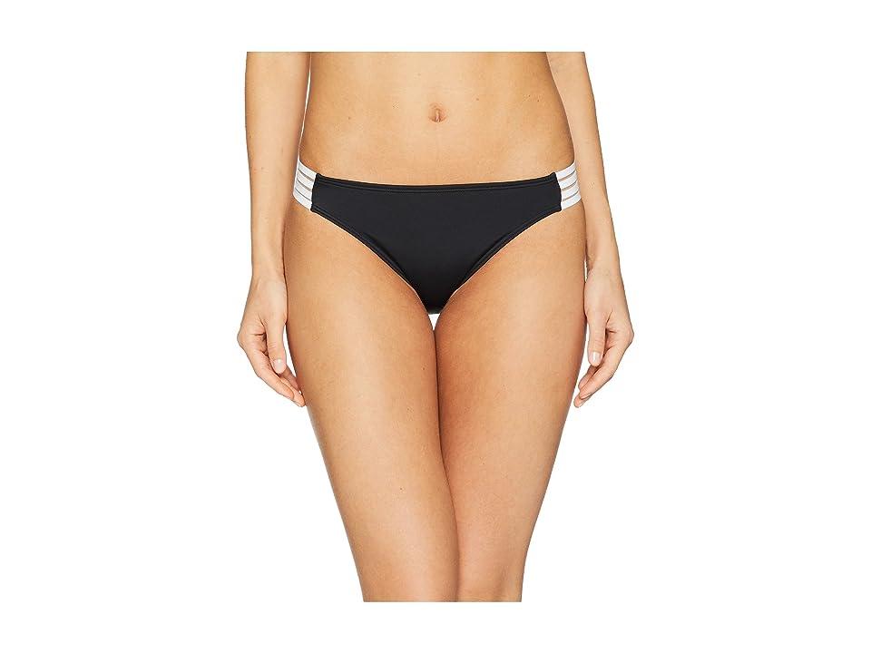 Roxy Roxy Fitness Solid Regular Bottoms (True Black) Women