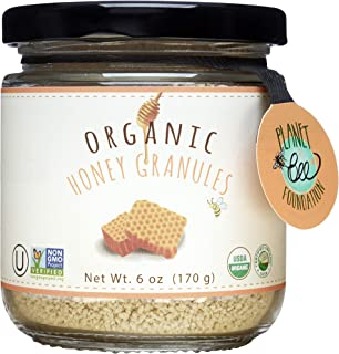 GREENBOW Organic Honey Granules - 100% USDA Certified Organic, Gluten Free, Non-GMO Organic Honey Granules - Highest Quali...