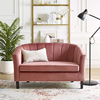 Best blush velvet loveseat Reviews