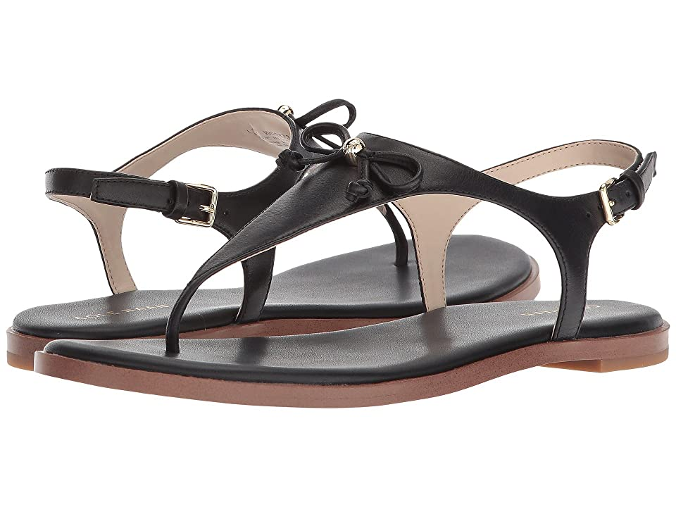 Cole Haan Findra Thong Sandal II (Black Leather) Women