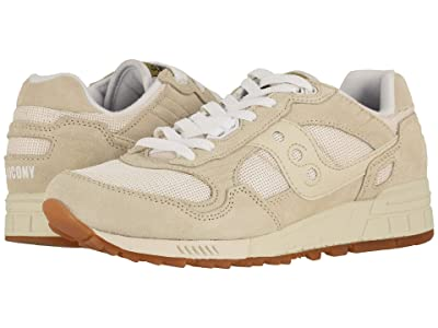 Saucony Originals Shadow 5000 Vintage (Tan/White) Men