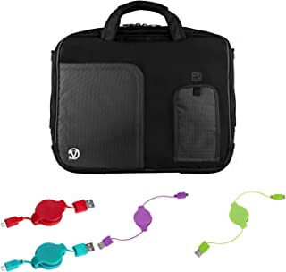 Durable Travel Laptop Case and Cables for Acer Aspire Switch, Nitro, Predator, Chromebook, Spin 10 inch 12 inch