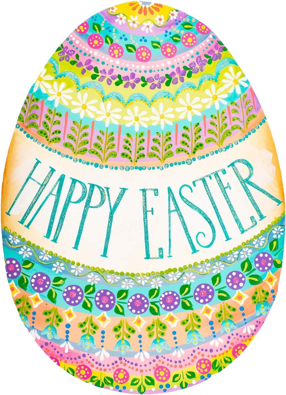 The Round Top Collection - Metal Easter Medium Happy SALE 売れ筋 Folk-Art