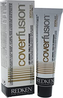 Redken Cover Fusion Low Ammonia, 6NBR Natural Brown Red, 2.1 Ounce
