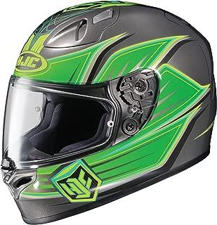 HJC Banshee Men's FG-17 Street Motorcycle Helmet - MC-6 / Medium