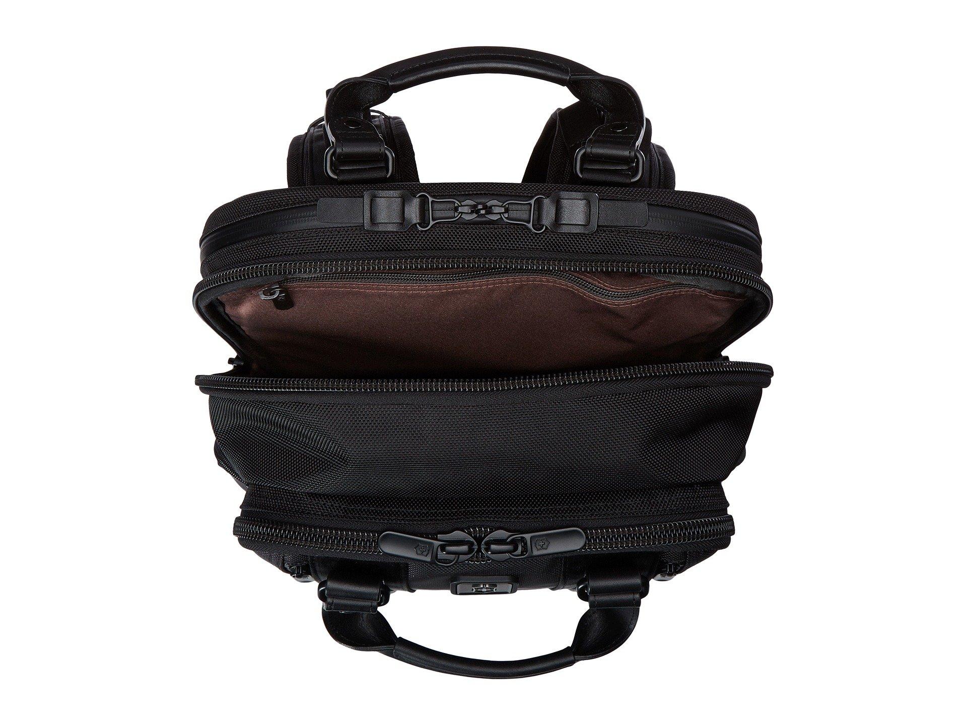 Black Bellevue Victorinox Laptop 17'' Backpack qCpIC4xywX