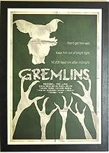 Gerahmtes Poster als Hommage an die Kunstwelt, offene Serie. Gremlins