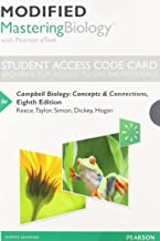 Modified Mastering Biology with Pearson eText -- Standalone Access Card -- for Campbell Biology: Concepts & Connections (8th Edition)