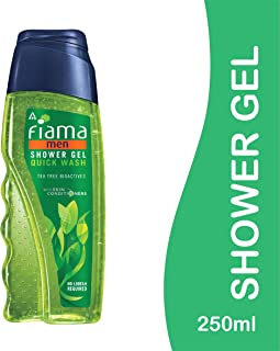 Fiama Shower Gel - Quick Wash and Oil Control, 250ml Bottle