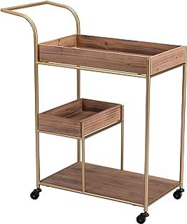 Zuo Bar Cart, Brown