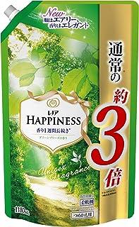 レノア ハピネス 柔軟剤 ユニセックスシリーズ グリーンブリーズの香り 詰め替え 超特大 1,180mL