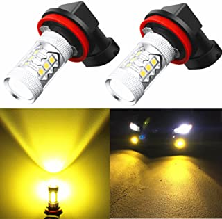 Alla Lighting Xtremely Super Bright 3000K Amber Yellow...