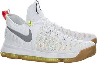Zoom KD 9 Men's Basketball Shoes (9.5, Multi/Color/Metallic Silver)