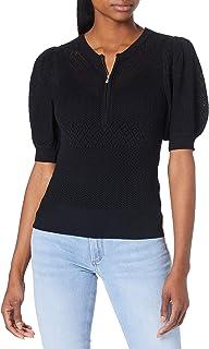 Morgan Pull Tricot Zip Encolure Mujo Suéter para Mujer