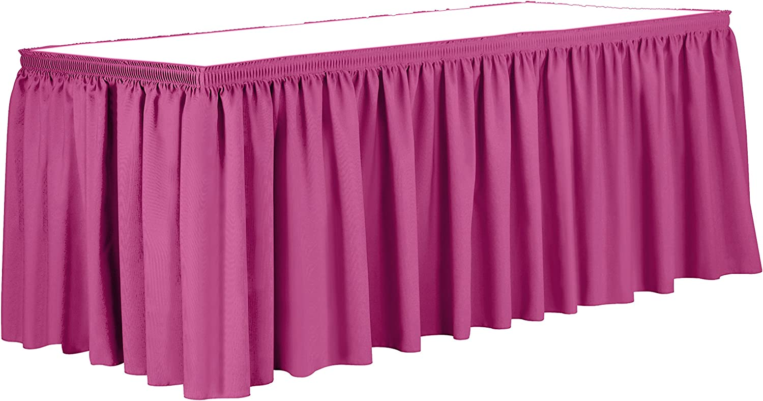 Ultimate Textile 7 ft. Shirred Pleat shipfree Polyester 36