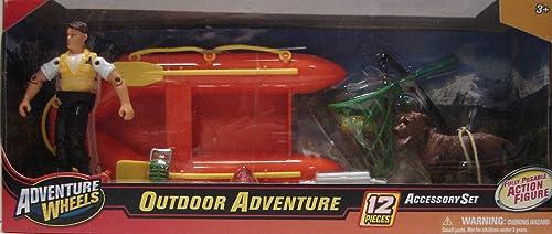 apresurado a ver Adventure Adventure Adventure Wheels Outdoor Adventure 12pc Accessory Set by Adventure Wheels  Tienda 2018