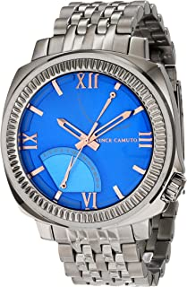 Best vince camuto multi function blue dial men's watch Reviews
