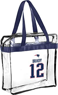 NFL Player Stadium Approved Clear Zippered Messenger Tote Bag