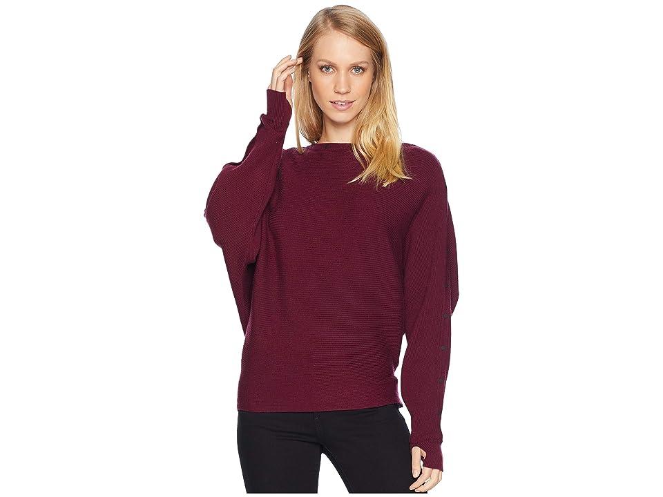 Blanc Noir Portola Sweater (Mulberry) Women