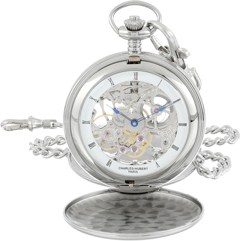 Charles-Hubert Paris 3780-W Sales results No. 1 Oklahoma City Mall Watch Pocket Mechanical