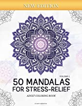 Download 50 Mandalas for Stress-Relief (Volume 1) Adult Coloring Book: Beautiful Mandalas for Stress Relief and Relaxation PDF