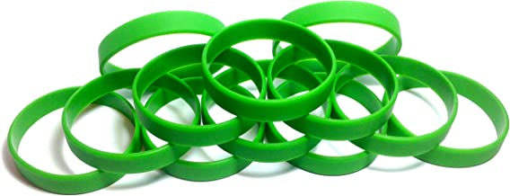 Best lime green rubber bracelets Reviews