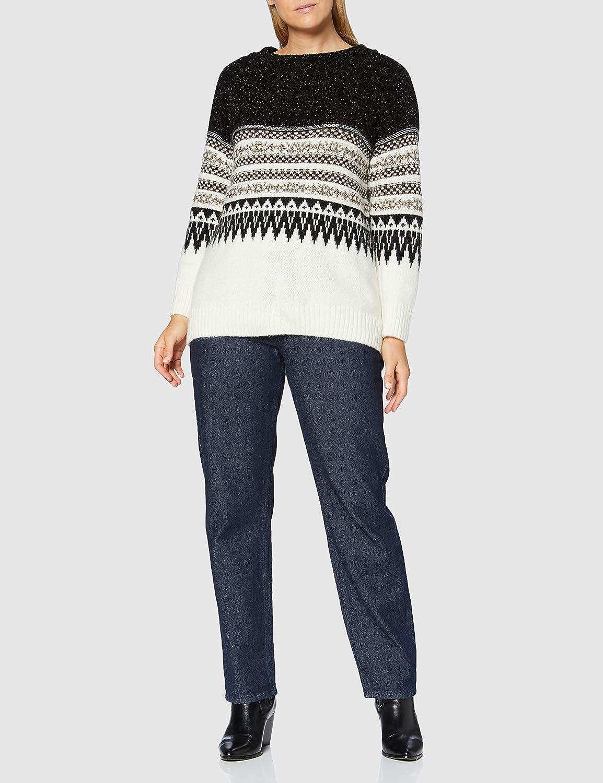 Pinko Bielorussia Sweater Femme Zm5_nero/Bianco/Marrone