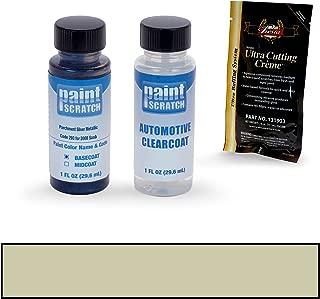 PAINTSCRATCH Parchment Silver Metallic 293 for 2008 Saab 9-3 - Touch Up Paint Bottle Kit - Original Factory OEM Automotive Paint - Color Match Guaranteed