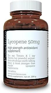 Lycopene 50mg x 180 Tablets (6 Months Supply). 300% Strength of Regular Lycopene Tablets. SKU: LY3