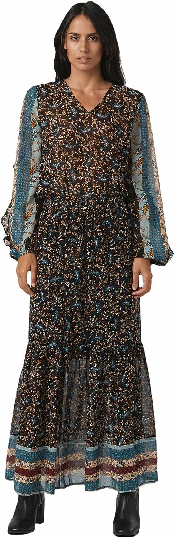 Shuuk Fashionable Trendy Paisley-Print Maxi Skirt with a Charming Paisley Print