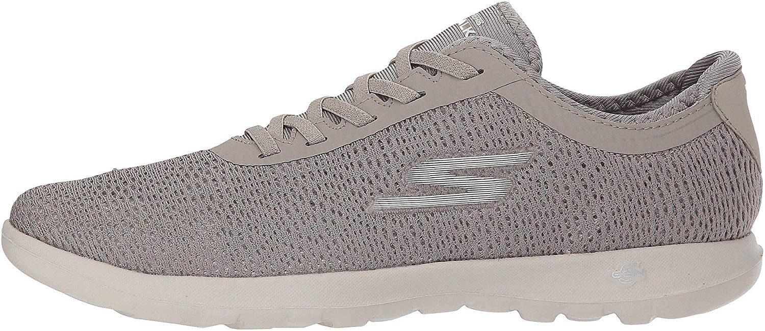 Skechers damen Gowalk Lite Savvy Walking schuhe 9.5 Taupe