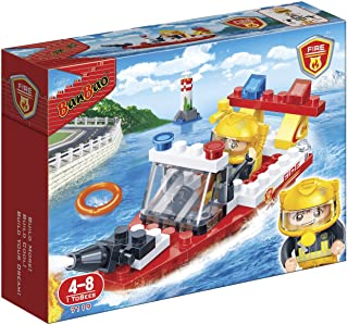 Banbao Fire Series 58Pcs 7119, For 4 Years & Above