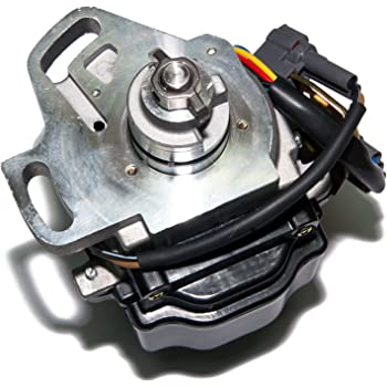 AIP Electronics Heavy Duty Stock Series Complete Electronic Ignition Distributor Compatible Replacement For 1993-1995 Geo Prizm Toyota Celica Corolla 1.8L 1.6L 19020-16250 Oem Fit D16250-SS