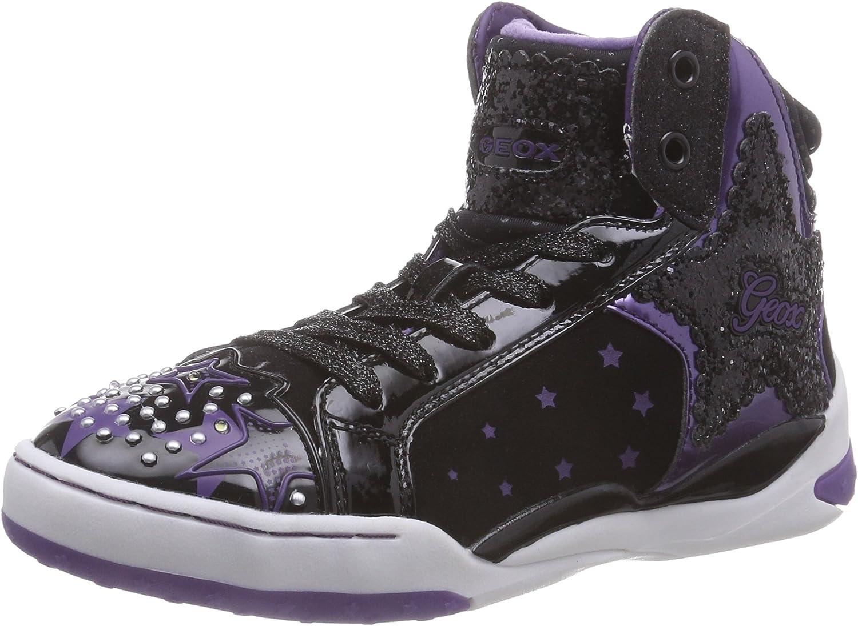 Geox J Ayko Girl 1 Sneaker (Toddler/Little Kid/Big Kid)