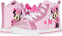 Minnie Mouse Canvas Sneaker (Toddler/Little Kid)