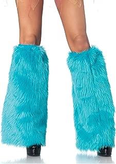 blue fuzzy monster costume