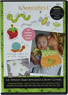 Kimberbell Designs KD551 Lil' Sprout BabyAppliques Ptrn, None