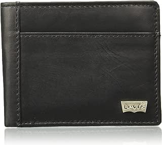Levi's Leather Black Men's Wallet (77173-0863)