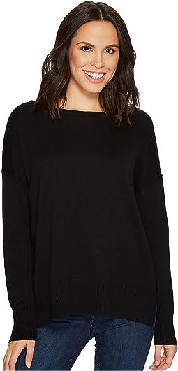NYDJ - Long Sleeve Sweater w/ Exposed Seams